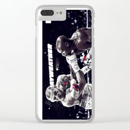 Two legends Clear iPhone Case