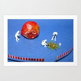CSI: Strawberry Art Print
