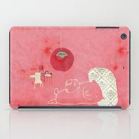 pig iPad Cases featuring Pig by yael frankel