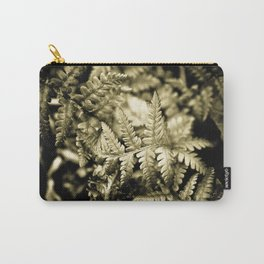 Metallic Fronds Carry-All Pouch