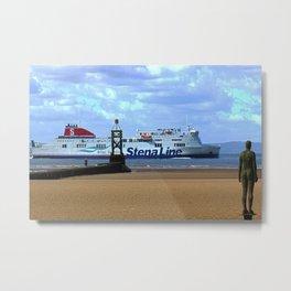 Belfast Ferry Metal Print