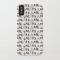marc johns iPhone & iPod Cases featuring Marc Jacobs by cvrcak