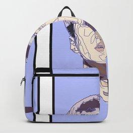 Violet geometry ver. I Backpack