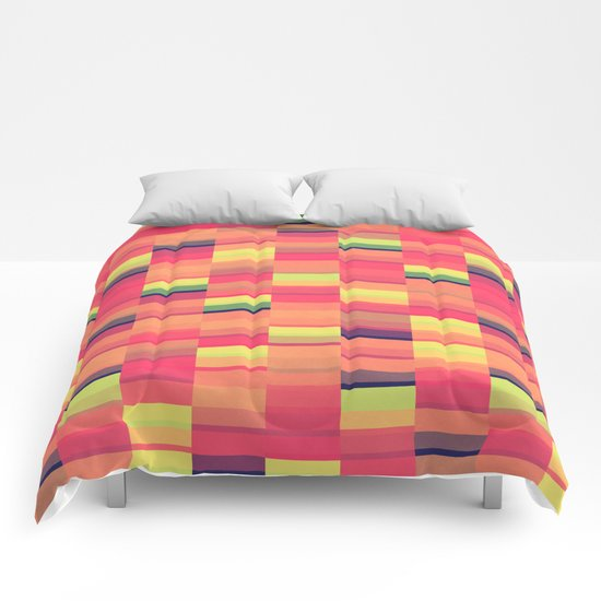 Color Blocks Pattern Comforters
