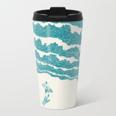 To the sea Metal Travel Mug