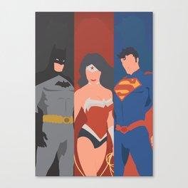 DC Trinity Canvas Print