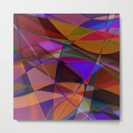 Abstract #376 Metal Print