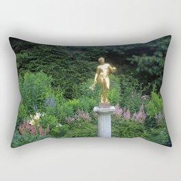 Pan in the Gardens Rectangular Pillow