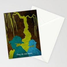 WAITING FOR GODOT - Book | Novel | Retro | Vintage | Vector | Surrealism | Funny | Irish Stationery Cards