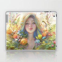 clip studio paint portrait Laptop & iPad Skin