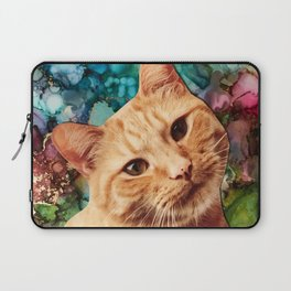 Orange Tabby Cat Laptop Sleeve