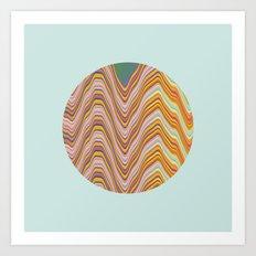 Fade A02 Art Print