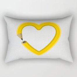 Love to draw Rectangular Pillow