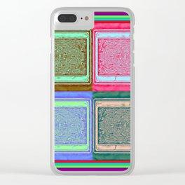 Retro brightness No'18 Clear iPhone Case
