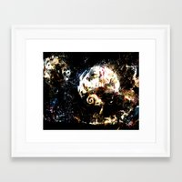 nightmare before christmas Framed Art Prints featuring nightmare before christmas by ururuty