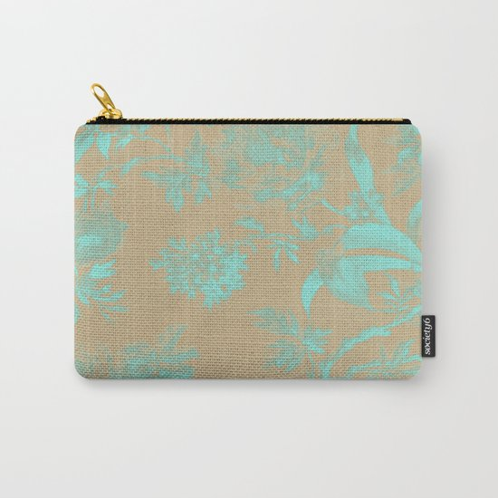Flowers QY Carry-All Pouch