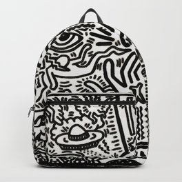 K. Allen Haring - Equal Rights - Popart Legend - Graffiti - The Marriage of Heaven and Hell Backpack