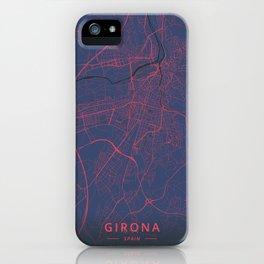 Girona, Spain - Neon iPhone Case