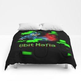 Mega Man 8 Bit Mafia  Comforters