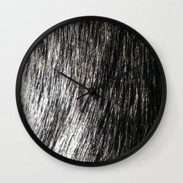 Fur Wall Clock