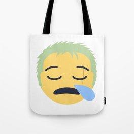 Roronoa Zoro Emoji Design Tote Bag