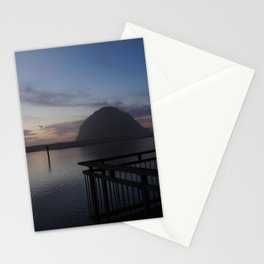 Morro Bay sunset Stationery Cards