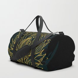 Nested in Gold Duffle Bag