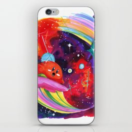 Surfing with Kirby iPhone Skin