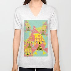 School of Modular Gold Fish. Unisex V-Neck