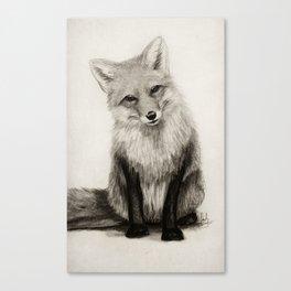 Fox Say What?! Canvas Print