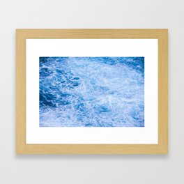W A S H Framed Art Print