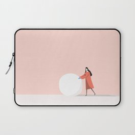 let's make snow man Laptop Sleeve