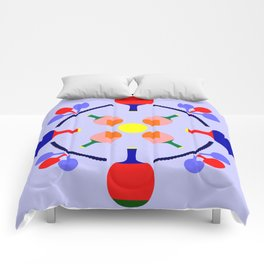 Table Tennis Design Comforters