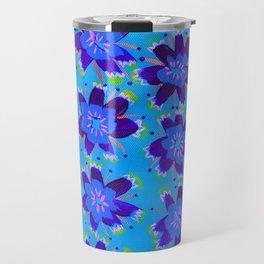 Blueberry Hill Rose Travel Mug