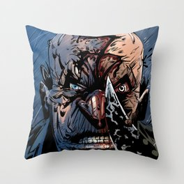 WRATH OF GOD - Seven Throw Pillow