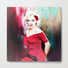 Marilyn's Boudoir Metal Print