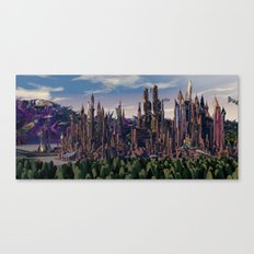 Rise  of  Ruin Canvas Print