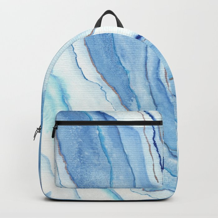 Agate Watercolor 12 Backpack