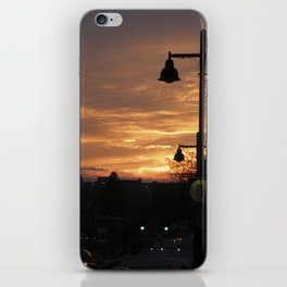 the volcano evenings iPhone Skin