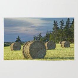 Hay Bales on Prince Edward Island Rug