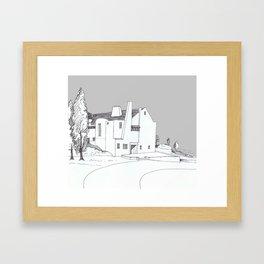 Hill House, Helensburgh Framed Art Print