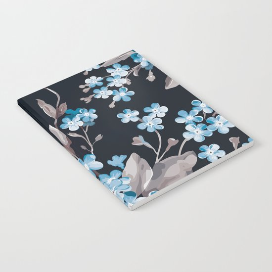 FLORAL PATTERN 3 Notebook