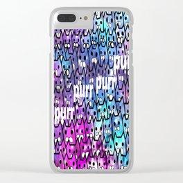 cat-250 Clear iPhone Case