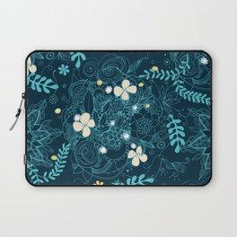 Dark floral delight Laptop Sleeve