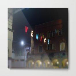 Venice Sign Metal Print