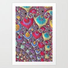 Candy Shells 2 Art Print