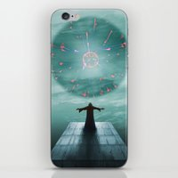 nordic iPhone & iPod Skins featuring Nordic magician by Tony Vazquez