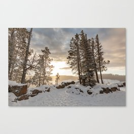 Lookout Point Overlook Canvas Print