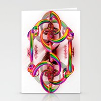 matrix Stationery Cards featuring Matrix by Brian Raggatt
