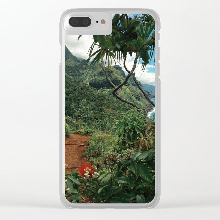 Kalalau Kauai Clear iPhone Case